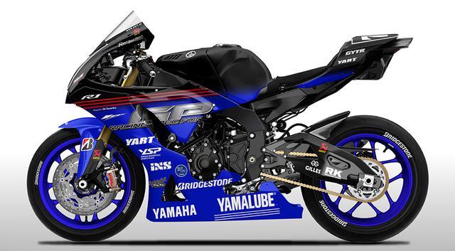 画像: 今年の鈴鹿8耐を戦う、YARTのヤマハYZF-R1のイメージ図。実車のカラーリングを、早く見てみたいですね! www.yamaha-motor.co.jp