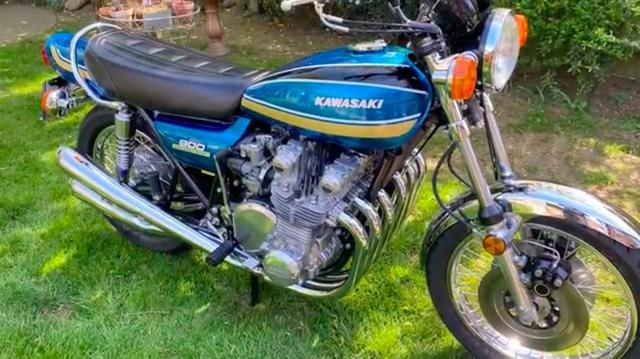 画像: ミルヤードさんが生み出した6気筒カスタム・・・Z1 スーパー6は、メーカー純正っぽい仕上がりも大きな魅力です。 www.youtube.com