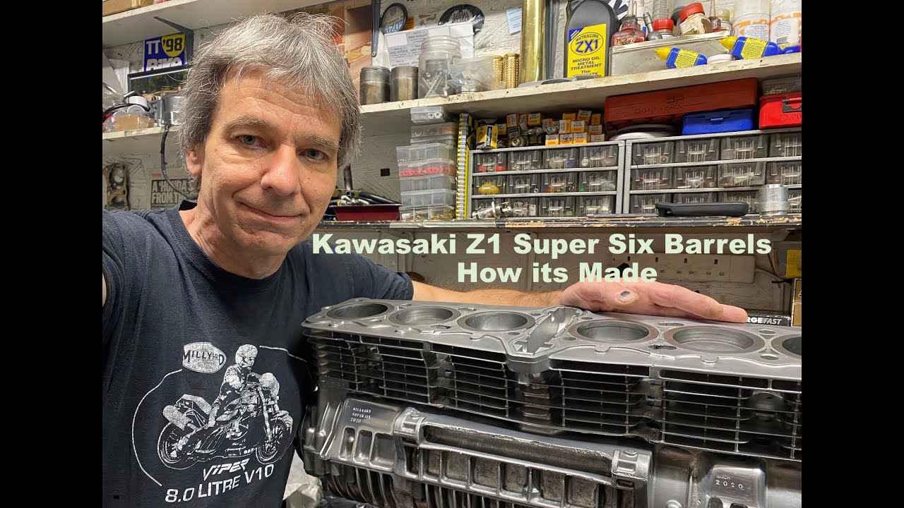 画像: Kawasaki Z1 Super Six Barrels - how its Made 3 youtu.be