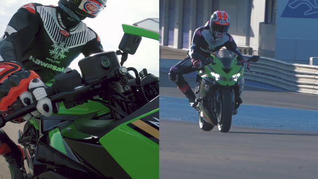 画像: Kawasaki Ninja ZX-25R x Jonathan Rea at Jerez Circuit youtu.be