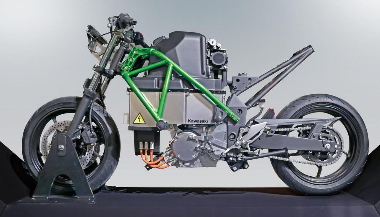画像: カワサキが突如発表した電動バイク「EV PROJECT」を考察! 4速マニュアルミッションに回生ブレーキも搭載 - webオートバイ