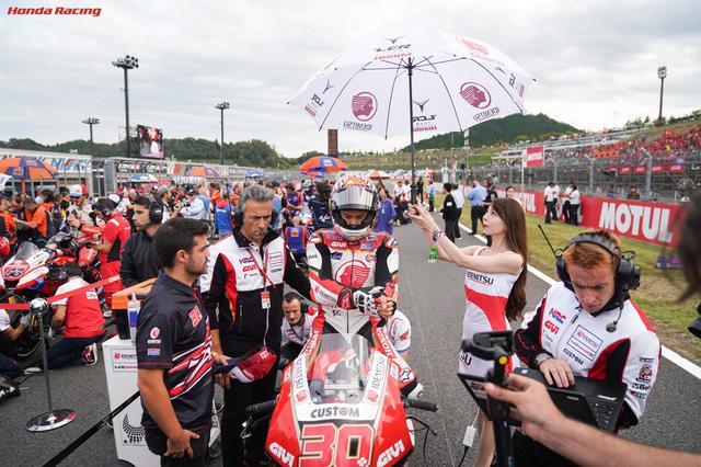 画像: 昨2019年のツインリンクもてぎ大会のワンシーン。唯一の日本人レギュラーである中上貴晶(ホンダ)にとっての凱旋レースがなくなったことも残念です・・・。 www.honda.co.jp