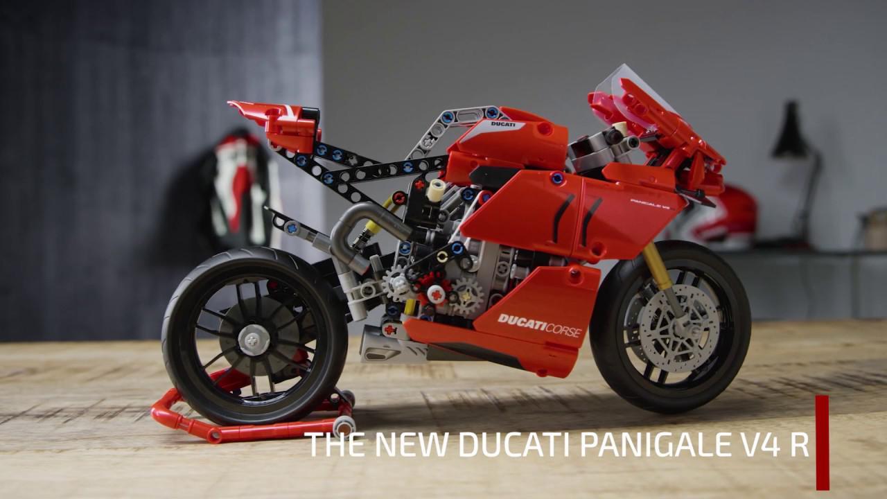 画像: LEGO® Technic™ Ducati Panigale V4 R youtu.be