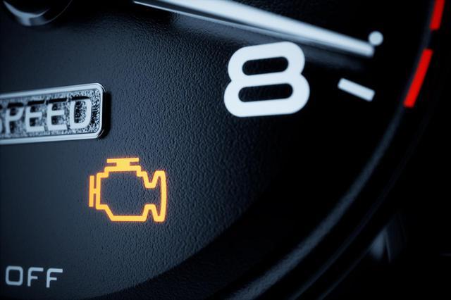 画像: エンジンのチェックランプが点灯していたら直してから査定に出すようにしたい