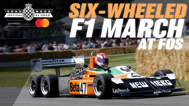 画像: Six-wheeled F1 car stuns Goodwood with screaming run youtu.be