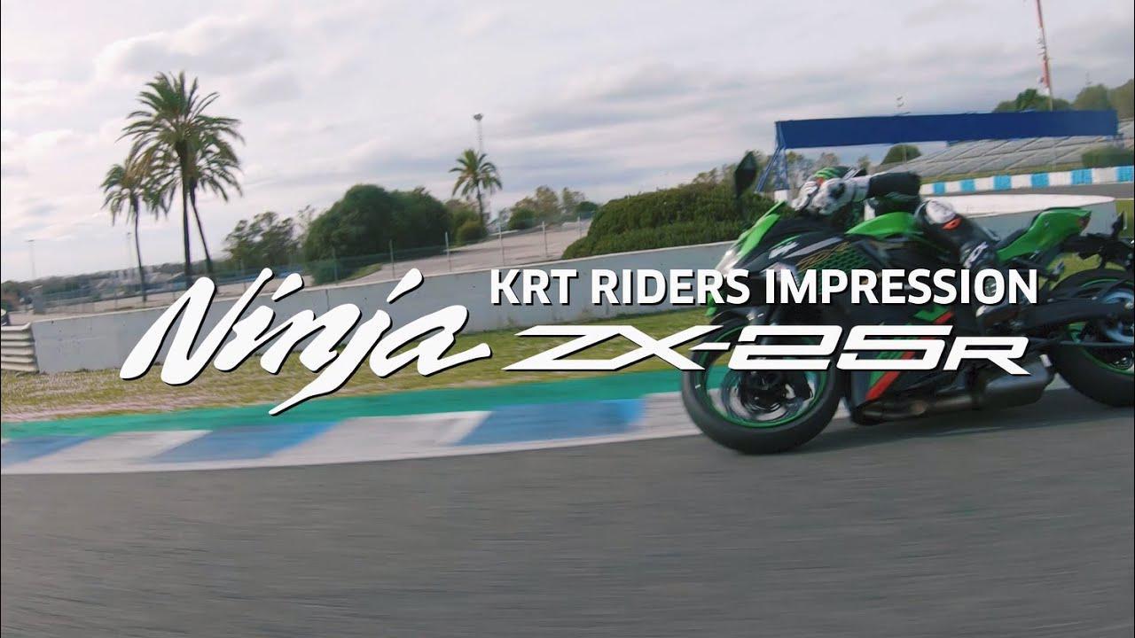 画像: Ninja ZX-25R KRT Rider Impressions www.youtube.com