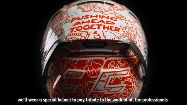 画像: Solidarity Helmet Jerez GP youtu.be