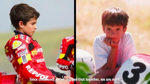 画像: 幼きころの兄マルクと、弟アレックスの写真です。ふたりともかわいいですね。 www.youtube.com