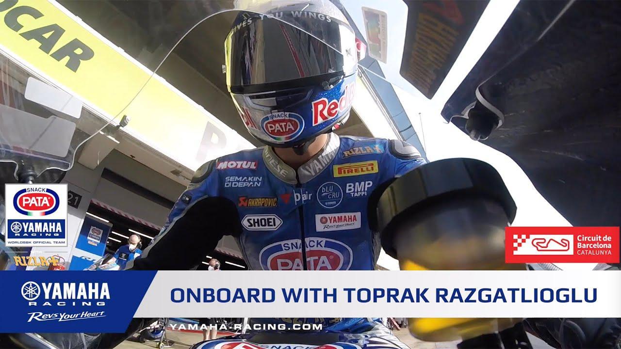 画像: Onboard with Toprak Razgatlıoğlu at Circuit Barcelona Catalunya youtu.be