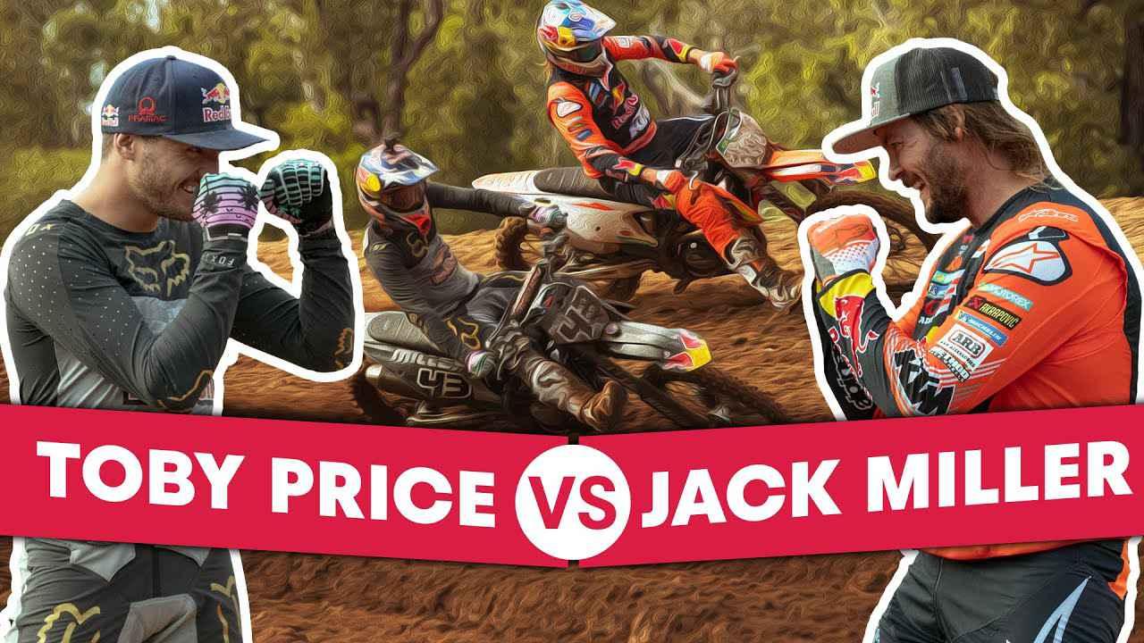 画像: Dakar Winner VS Motogp Star Head-To-Head on a Motocross Track | Miller vs Price youtu.be