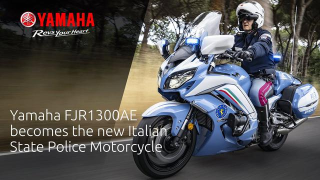 画像: Yamaha FJR1300AE becomes the new Italian State Police Motorcycle www.youtube.com
