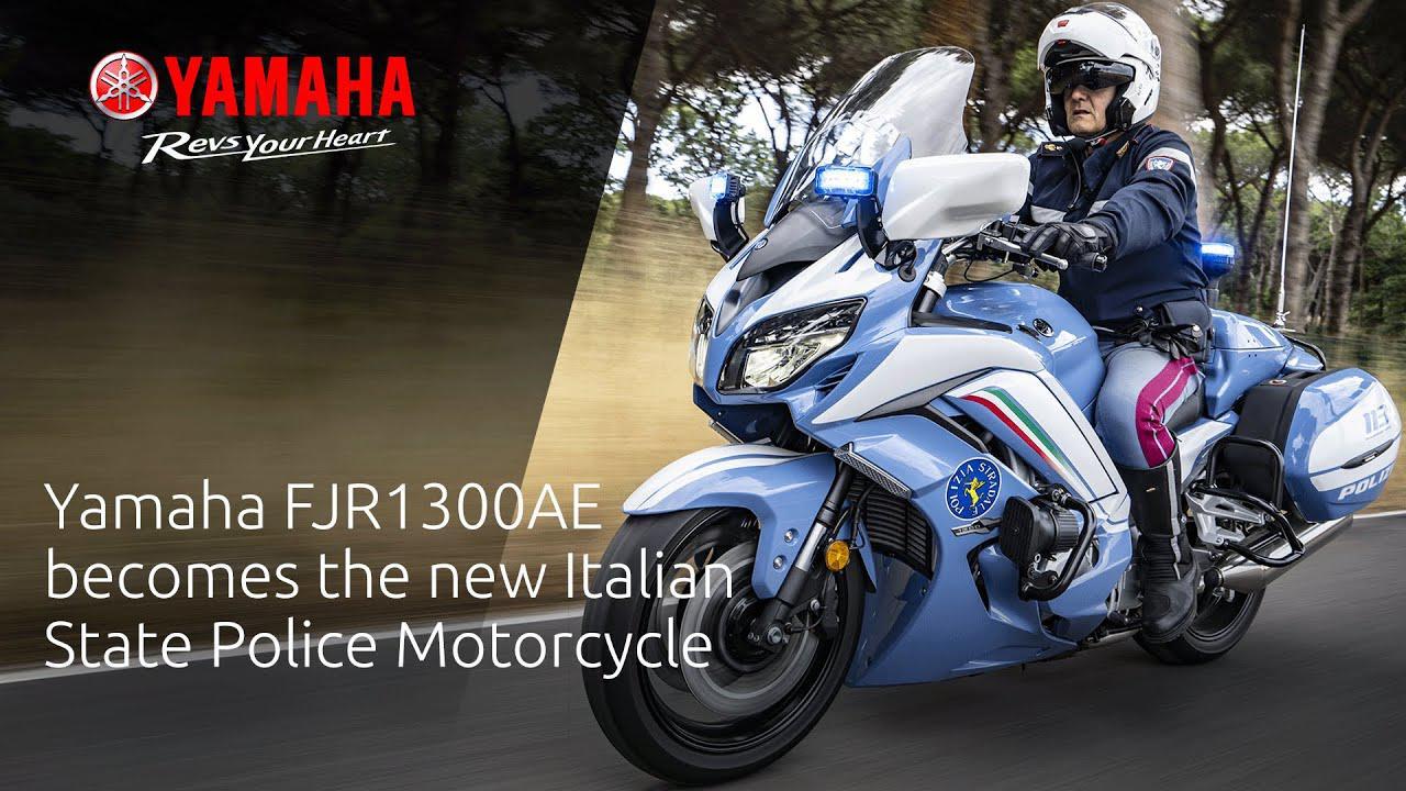 画像: Yamaha FJR1300AE becomes the new Italian State Police Motorcycle www.youtube.com