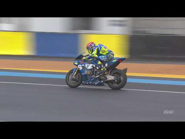 画像: 24 Heures Motos 2020 - Gregg Black crash youtu.be
