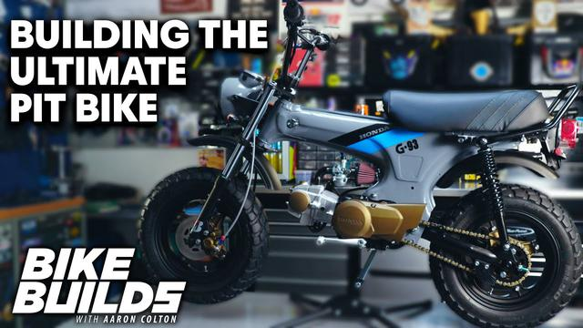 画像: Rebuilding a Honda CT70 Minibike | Bike Builds with Aaron Colton youtu.be