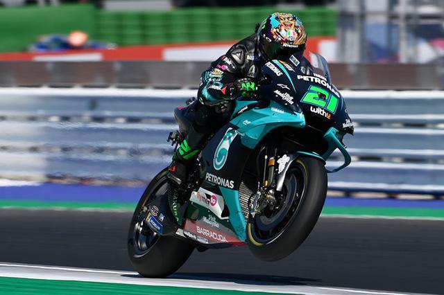 画像: 見事初優勝をミサノで記録したF.モルビデリ(ヤマハ)。ランキングも7位(57ポイント)まで浮上しました! race.yamaha-motor.co.jp