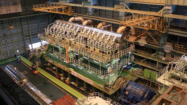 画像: WinGD's 14RT-flex96C the most powerful diesel engine (formerly Wärtsilä) www.youtube.com