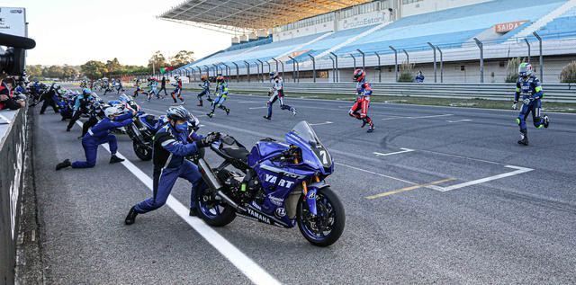 画像: ポールポジションのYARTは、発進に手間取り大幅に順位を落とすことに・・・。 www.fimewc.jp