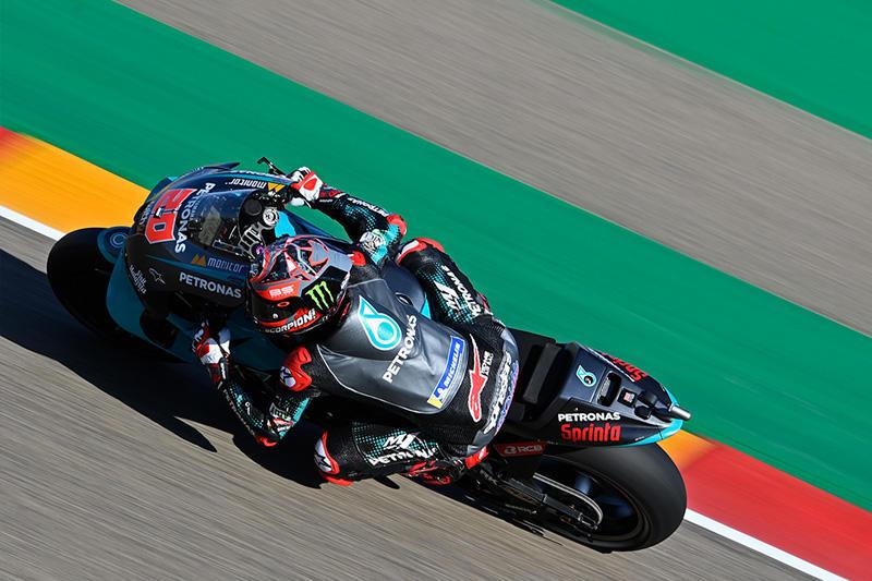 画像: シーズン最多勝(3勝)でランキング首位のF.クアルタラロ(ヤマハ)は、前戦フランスGPに続き2戦連続ポールポジションを獲得! race.yamaha-motor.co.jp