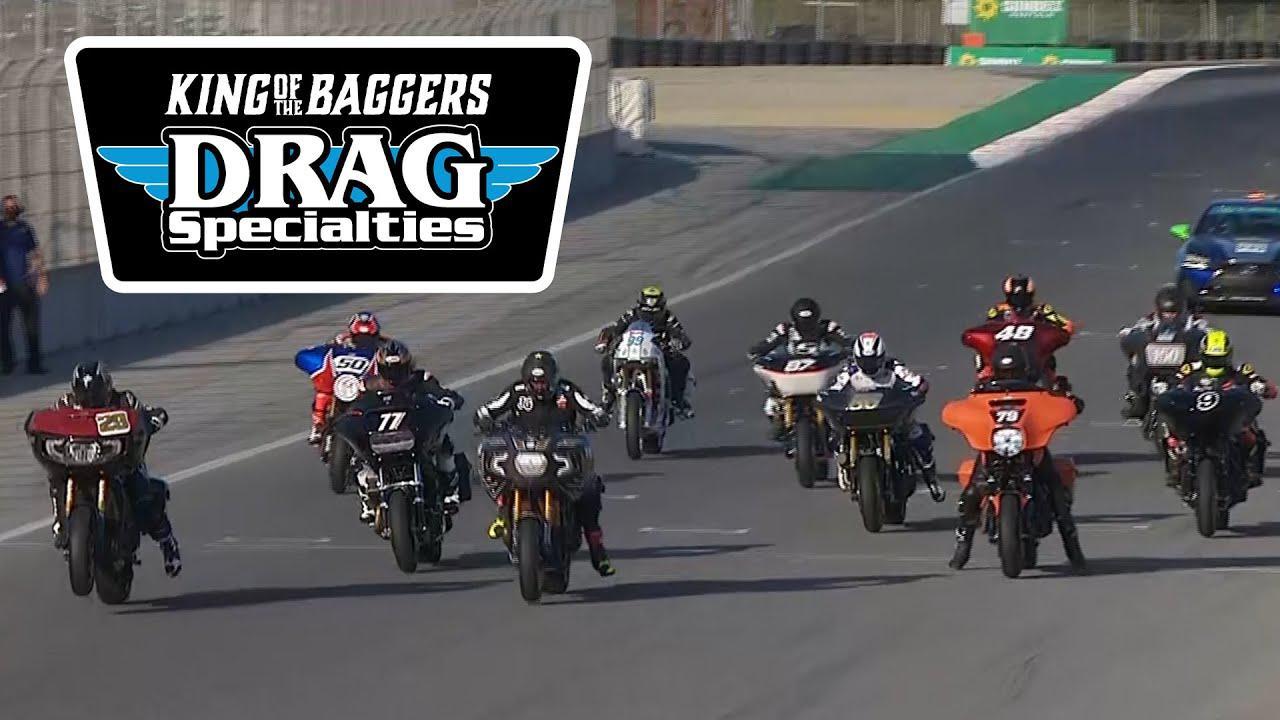 画像: MotoAmerica Drag Specialties King of the Baggers Race at Laguna Seca 2020 youtu.be