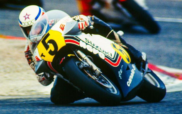 画像: 1975年にGPデビューを果たしたイタリアンライダーのM.ルッキネリは、1980年にスズキでGP初優勝を記録。翌1981年には5勝を記録してタイトルを獲得しました。 www.motogp.com