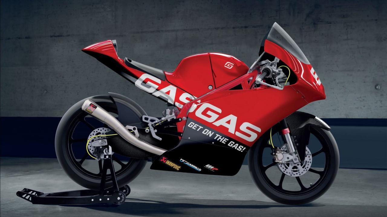 画像: 2021年からMoto3に参戦開始する、ガスガスRC250GP。なおこれはCGによるイメージ画像であり、実車を撮影したものではありません。 www.gasgas.com