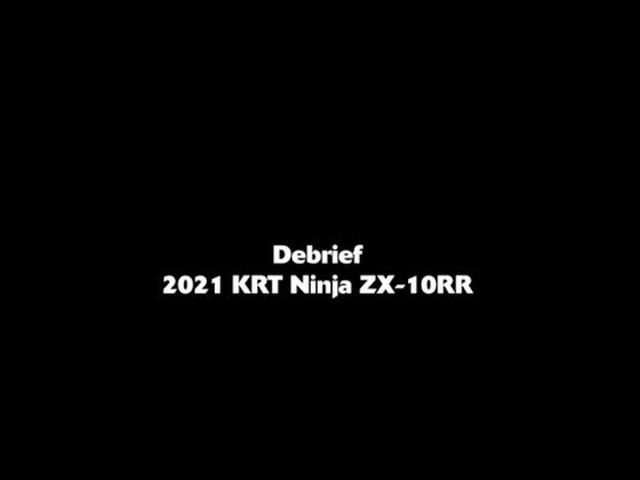 画像: Debrief – Kawasaki Racing Team – Winter Test - 2021 KRT ZX-10RR youtu.be