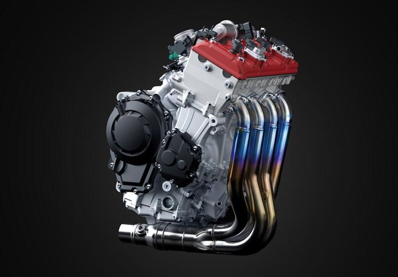画像: 軽量クランクシャフト、軽量ピストンを採用する心臓部。高出力と低中速域力強さを両立させています。高回転化、アグレッシブなカムプロフィールの採用を可能とする、フィンガータイプのフォロワーを採用しています。 www.kawasaki.com