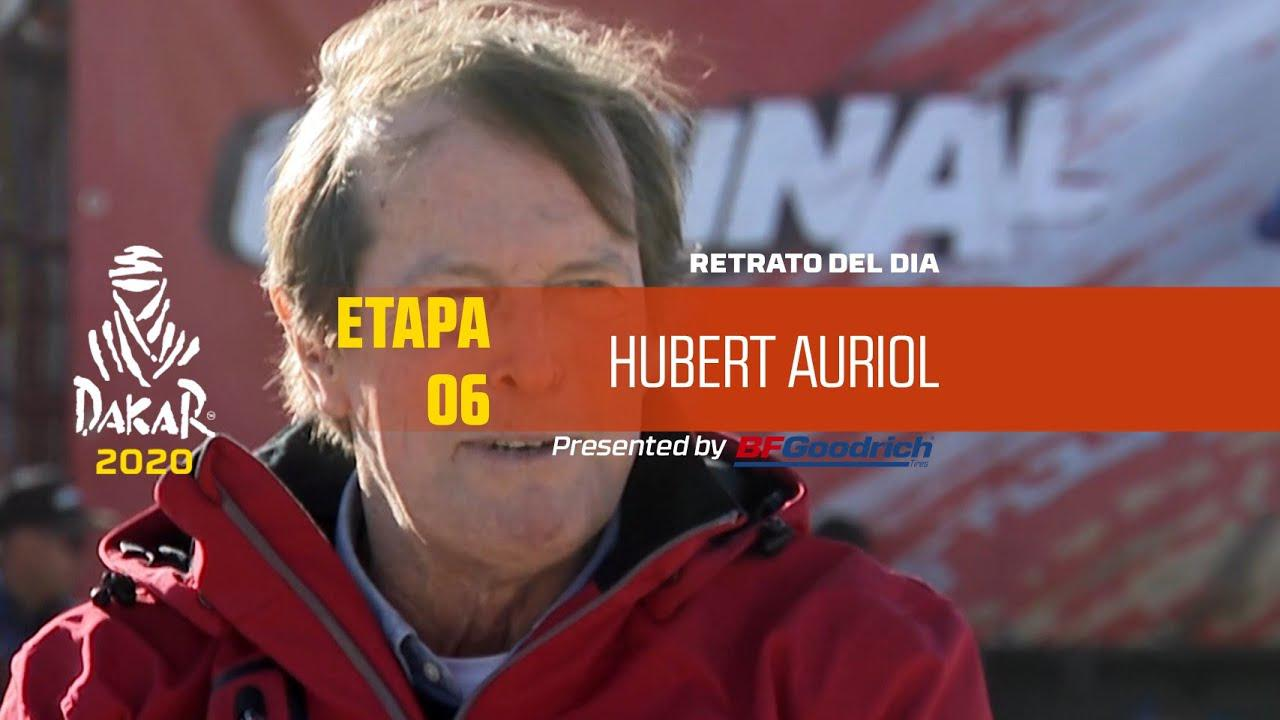 画像: Dakar 2020 - Jornada de descanso - Retrato del día - Hubert Auriol youtu.be