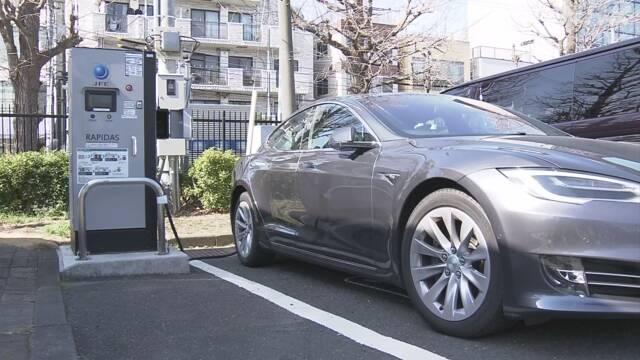 画像: 東京都 新車の乗用車「2030年までに脱ガソリン車」方針固める | NHKニュース