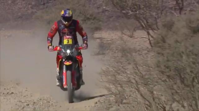 画像: 2020年度は3位に終わりましたが、今年は3度目のダカール制覇を狙うT.プライス(KTM)。 www.youtube.com