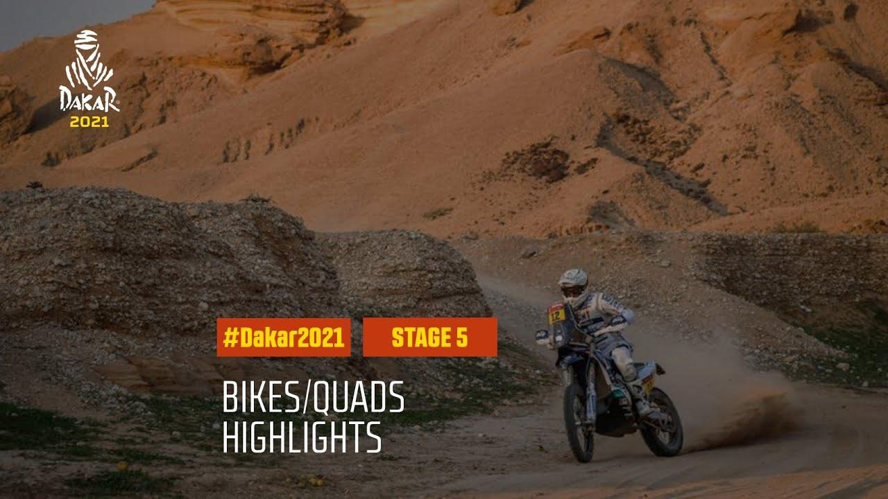 画像: #DAKAR2021 - Stage 5 - Riyadh / Al Qaisumah - Bike/Quad Highlights youtu.be