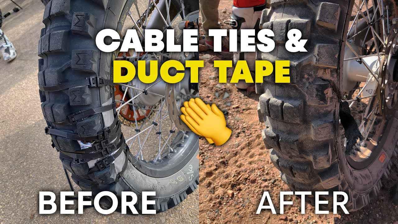 画像: Dakar 2021: Toby Completes The Marathon Stage 8 With A Split Tyre youtu.be