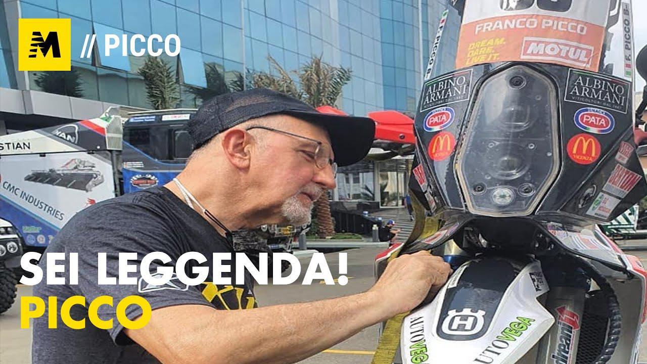 画像: Dakar 2021. Franco Picco ce l'ha fatta! E' Leggenda! youtu.be