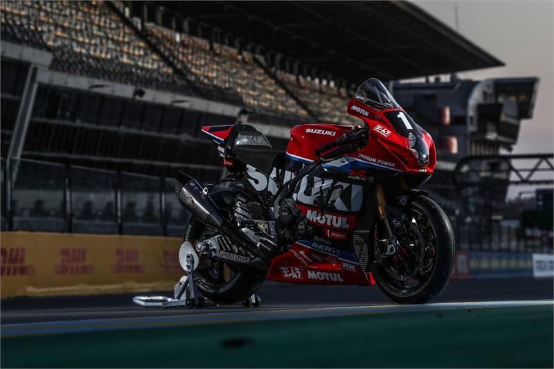 画像: 2021年シーズン、FIM EWCを戦うヨシムラ SERT モチュールのスズキGSX-R1000。 www.suzuki-racing.com
