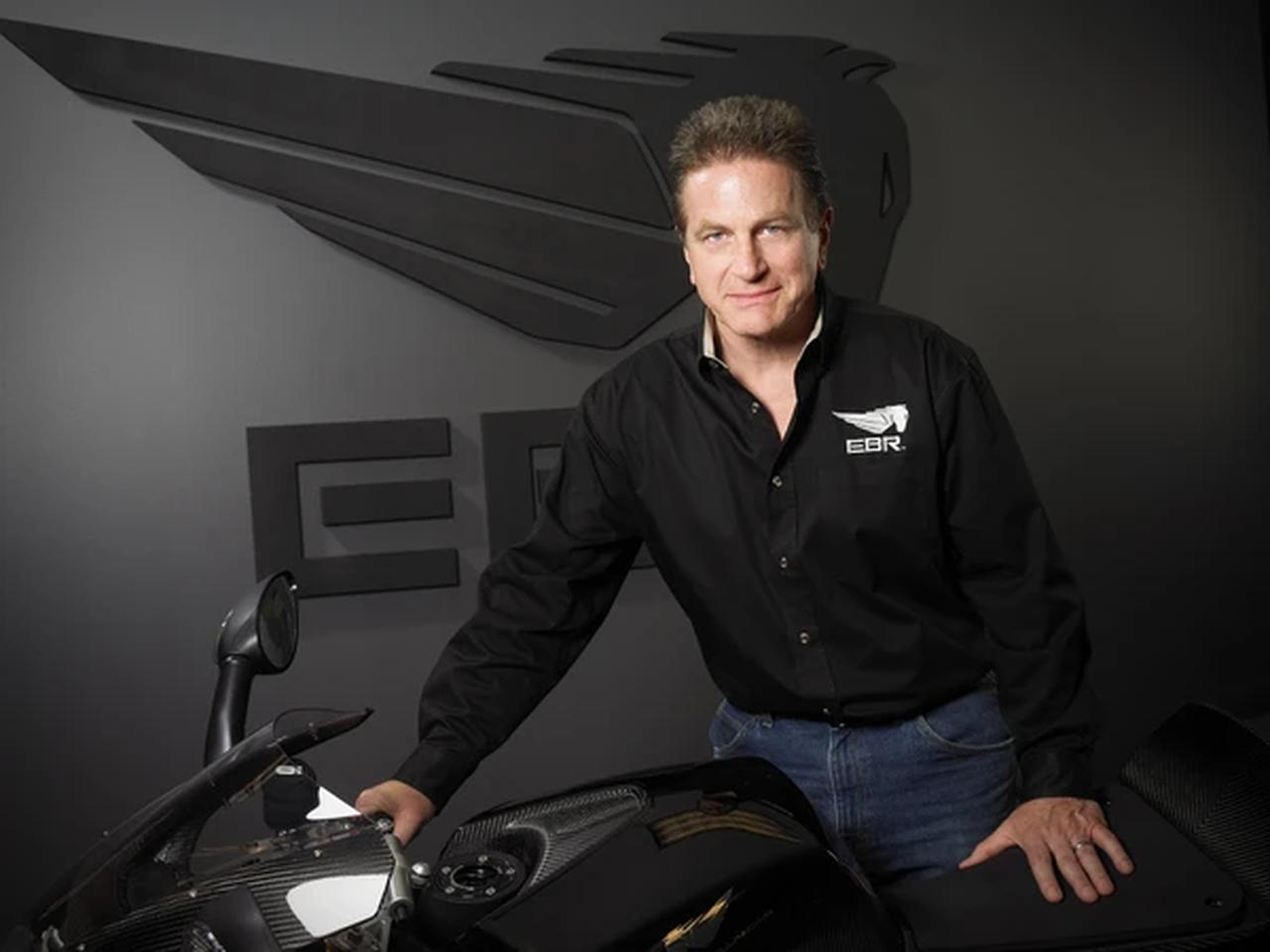 画像: 2009年にEBRを米国ウィスコンシン州に創立したE.ビューエルですが、財政破綻により彼は社を去ることになります・・・。 www.fuell.us