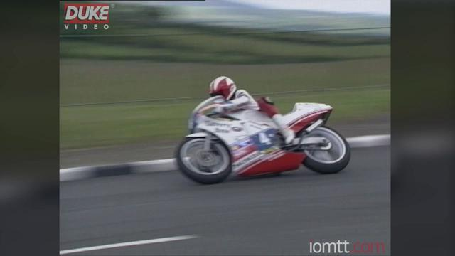 画像: Johnny Rea wins the 1989 Junior TT Race youtu.be