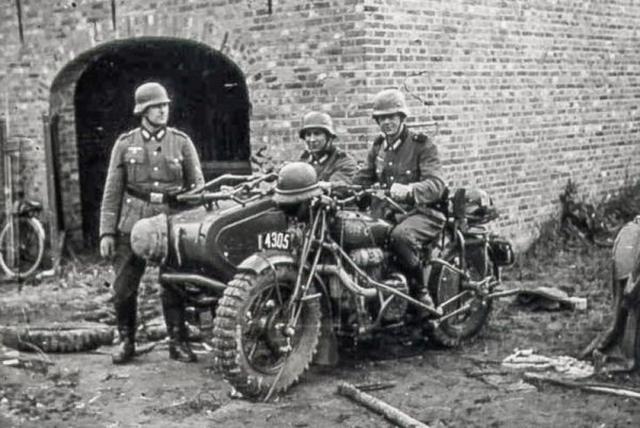 画像: 捕獲され、ドイツ軍に使われることになってしまったFN M12a SM。 tekdeeps.com