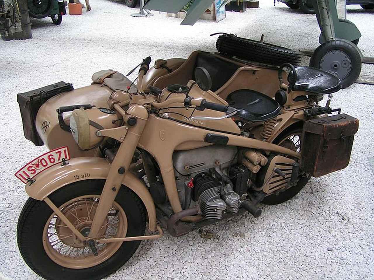 画像: ツュンダップKS750は、1941〜1945年の間に18,284台、そして終戦後は1948年までストックされた部品を使い、349台が製造されました。 de.wikipedia.org