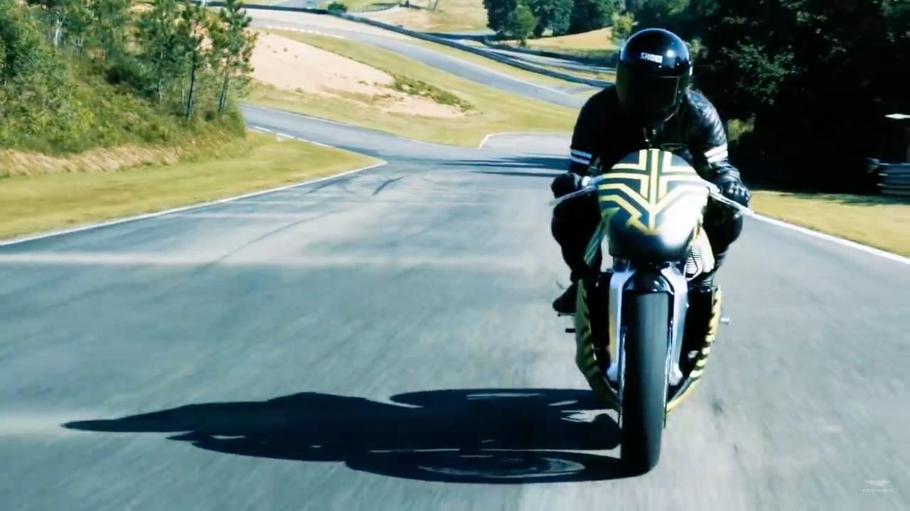画像: [動画] ついに!! アストンマーティンAMB001が走り出しました!! - LAWRENCE - Motorcycle x Cars + α = Your Life.