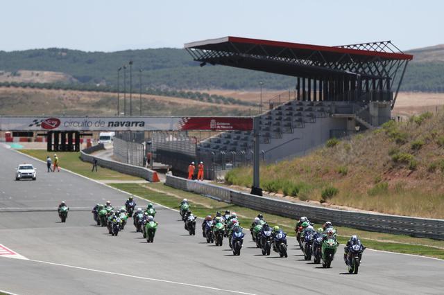 画像: ナバラ・サーキットで行われた、2020年の国内選手権ESBKの1シーン。 www.circuitodenavarra.com
