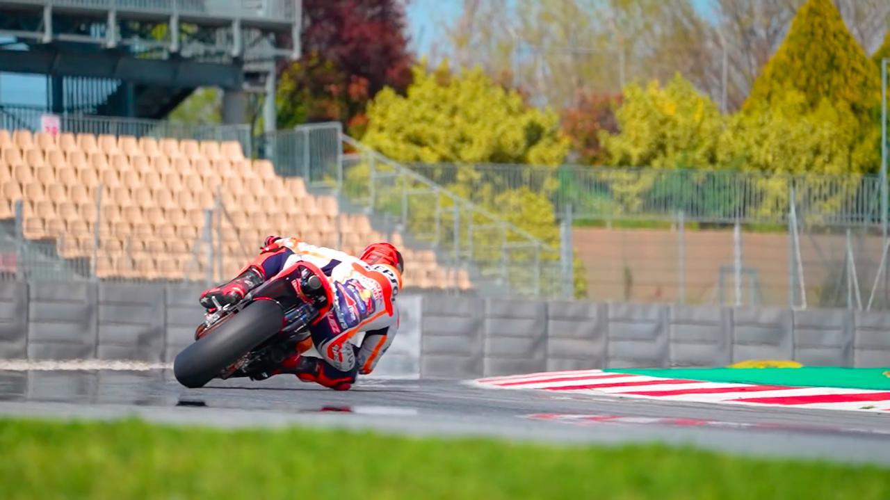 [動画] M.マルケス、ポルティマオ・サーキットを疾走!! [MotoGP]
