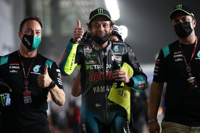 画像: ペトロナス ヤマハSRTでの初の予選で、4番グリッドを確保したV.ロッシ。決勝でも活躍してくれることを期待しましょう! race.yamaha-motor.co.jp