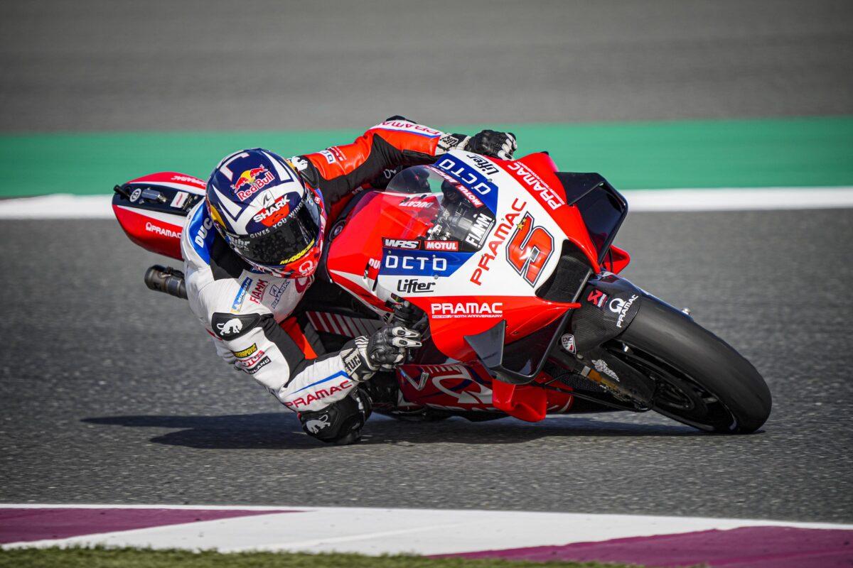 画像: ドゥカティサテライトチームのプラマックレーシングに所属するJ.ザルコは、デスモセディチGP21を駆り364.2 km/hの最高速を記録しました! www.pramacracing.com
