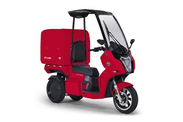 画像1: 【プレスリリース】aidea株式会社、日本郵便株式会社に電動3輪バイク「AAカーゴ β8」を納入