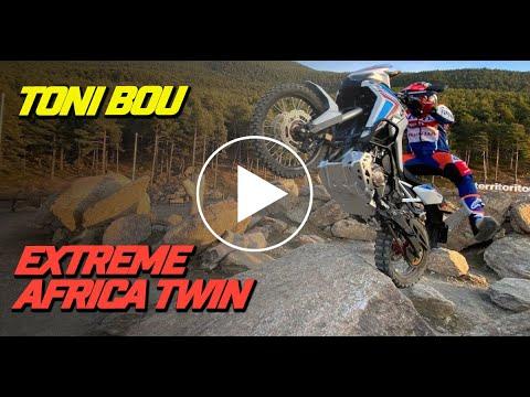 画像: Toni Bou extreme enduro Honda Africa Twin & CRF 250 youtu.be