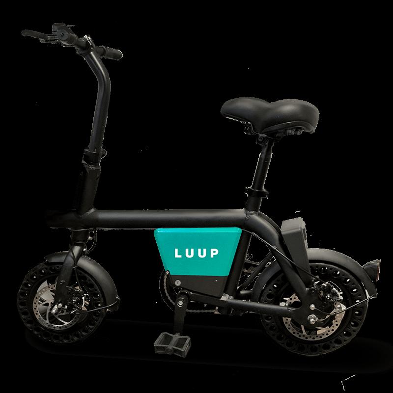 画像: 「LUUP」の電動アシスト自転車。LUUPは街中にあるLUUPのモビリティ(電動アシスト自転車と電動キックボード)に、どこからでも乗れて好きな場所に返せるシェアリングサービス。専用アプリを介して借りることができ、徒歩では遠いと感じる程度の距離を、簡単に移動することができるます。 luup.sc