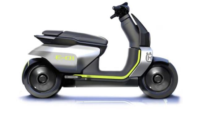 画像: ハスクバーナはイーピレンとともに、Eスクーターを2022年に市場投入すると投資家向けに説明しています。 www.pierermobility.com