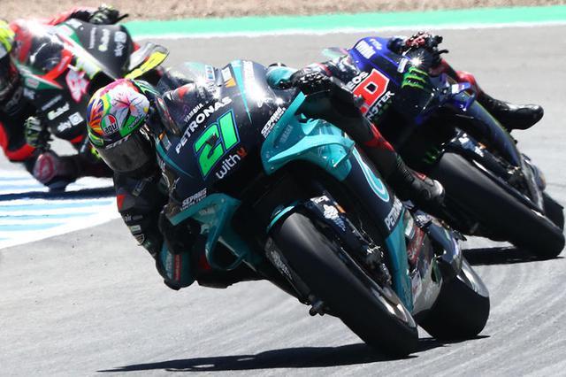 画像: シーズン序盤は結果を残せていなかった前年度ランキング2位のF.モルビデリ(ヤマハ)ですが、スペインGPでは初表彰台を獲得しランキング8位までポジションを上げました。 race.yamaha-motor.co.jp