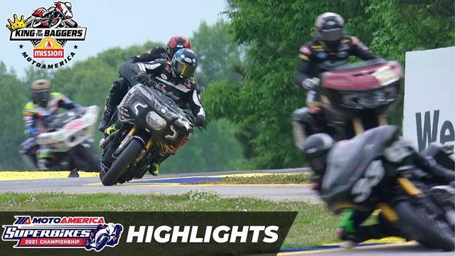 画像: Mission King Of The Baggers Race Highlights at Road Atlanta 2021 youtu.be