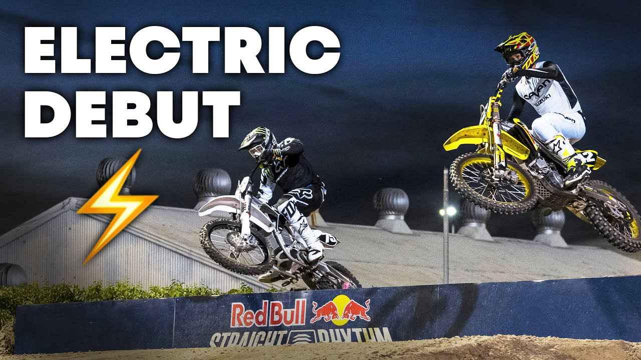 画像: Electric MX Bike Makes Professional Debut at Red Bull Straight Rhythm | Moto Spy Supercross youtu.be